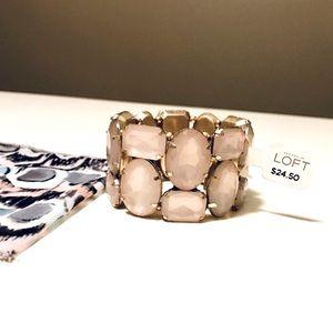 NWT Jeweled Bracelet by LOFT